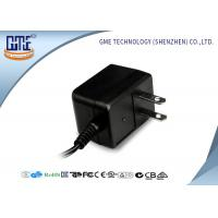 Black CE/GS EU Plug 3-10w Ac Dc Switching Power Supply With 1.5m DC Cable