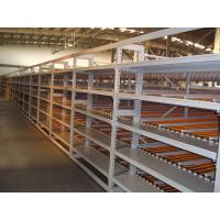 Quality Mobile  Gravity Carton Flow Roller Track  Racking   Large Load Capacity Storage for sale