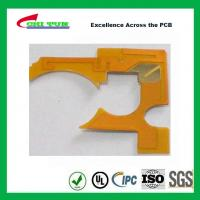 Quality IPC Standard Flexible PCB Thickness 1mil with Plaing Gold PI Material for sale