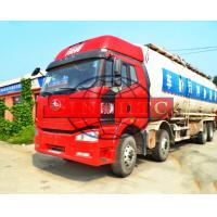 Quality FAW J6 Cabin 8x4 Dry Bulk Cement Powder Truck, 40 Cubic Tanker Dry Cement Truck for sale