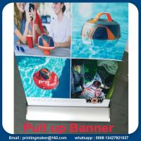 Quality Outdoor Aluminum Alloy Roll Up Banner Stand for sale
