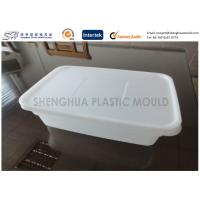 Quality Rectangle Thin Wall Safe takeaway Plastic Food Containers Disposable for storage for sale