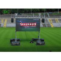 Quality Outdoor HD Full Color  Sport Stadium LED Screen P10mm 10000dots/sq m for sale