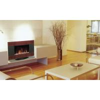 Wall Mount Electric Fireplace Heater Wooden Flame Ef423s Ef423sl