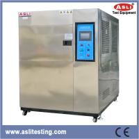 Best 3 Zone SUS 304 Electric Power LCD Thermal Shock Chamber -60 To 200 Degree wholesale