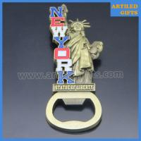 Quality Antique imitation 3D metal crafts New York States Statue of Liberty bottle opener for sale