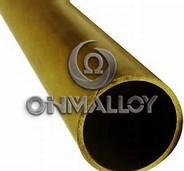 Best ASTM Standard C72900 Copper Based Alloys Brass Tube / Pipe For Water Heater wholesale
