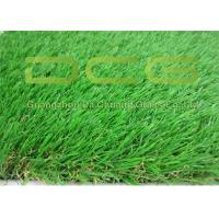 Quality Beautiful Artificial Green Grass / Realistic Fake Grass Excellent Durability for sale