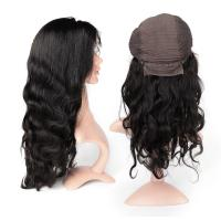 Buy Body Wave Swiss Human Hair Lace Front Wigs No Shedding No Tangle at wholesale prices