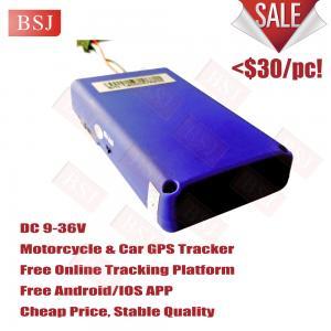 Best Basic gps tracker basic gps vehicle tracker for motorbike/motorcycle wholesale