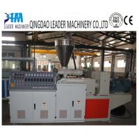 Buy cheap plastic profile extruder machine from wholesalers