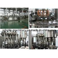 Quality Electric Driven Beverage Juice 3-in-1 Automatic Filling Machine (CGFR) for sale