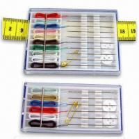 China 10 Pieces Hand needle with Thread Sewing Kit for Traveler and Promotion on sale