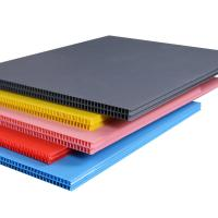 Quality Red/Blue/White /Black Corrugated Plastic 4x8/Coroplast Sheets UK for sale