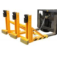 China Electric drum lifting equipment , forklift drum tipper for plastic / steel drums on sale