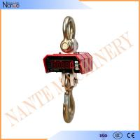 Best LED Module Display Hanging Crane Hook , Digital Weighing Scale With Steel Case wholesale