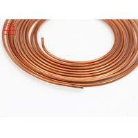 Quality 5 / 16 Inch Copper Pancake Coil Custom Length For Refrigerator / Water Heater for sale