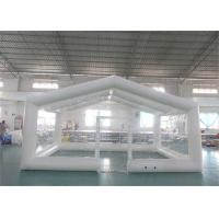 Quality Durable Transparent Inflatable Event Tent / Blow Up Camping Tent for sale