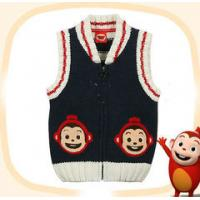 China OEM  2012 fashion v neck Baby Boy and Girls Knitted Cardigans , kids Sweater on sale