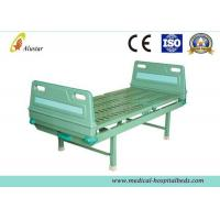 Best Single Function ABS Head Adjustable Crank Hospital Bed, Medical Hospital Bed With Bumper (ALS-M106) wholesale