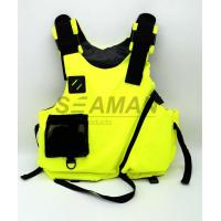 Quality S , M , L Water Sport Rafting Life Jacket Kayak Foam Life Vest Buoyancy Aids for sale