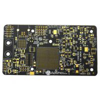 Quality High TG Black Soldermask Prototype Multi Layer Pcb Laser Drill Communicate Electronics Board for sale