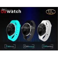 Best Bluetooth Smart Watch WristWatch Uu Watch for iPhone 4/4S/5/5S ,UWatch for Samsung S5 4/Note 3 Android , Smart phones wholesale