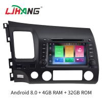 Quality 4GB RAM Android 8.0 Honda Car DVD Player Multimedia With Wifi Radio Stereo for sale