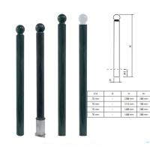 Quality Powder Coating Parking Bollards Cast Iron Traffic Decorative Cast Iron Posts for sale