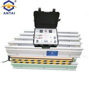 Quality Finger Punching Baler Belt Lacing Tool , PLC Control Conveyor Belt Vulcanizing Equipment for sale