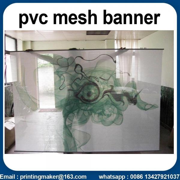 curtain mesh banner