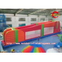 China Amazing Sports Super High Inflatable Zipline / Outdoor Inflatable Sport Game on sale