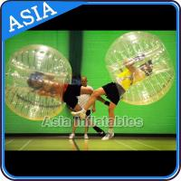 China CE standard Inflatable Bumper Ball / TPU bubble soccer / Football zorb / Knocker ball on sale
