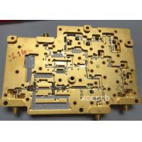 Quality Taconic TLY-8 26.5G PCB Board Fabrication Whole Face Immersion Gold for sale