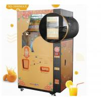 Buy cheap Coin and Note Payment Orange Juice Vending Machine With Cooling System from wholesalers
