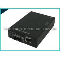 China Fiber Optic Media Converter Multimode , Fibre Ethernet Converter 1000 Mbps Gigabit on sale