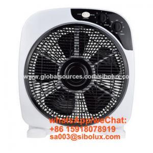 """Quality 12 inch portable plastic box fan for office and home appliances /12"""" Ventilador de caja de plásticod for sale"""