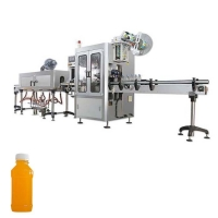 Quality PET mineral water bottle labeling machine pure water shrink sleeve labeling machine for sale