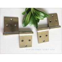 Quality Removable Lift Off Cabinet Hinges  Folding Middle East Type Two Pieces Small Nickel Plated for sale