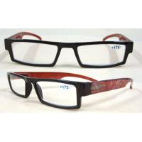 Buy cheap UV400, Red Arms Plastic Fold Reading Glasses With Scratch Resitance BP-4456 from wholesalers