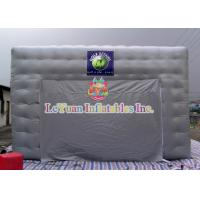 Best Logo Movable Inflatable Army / Lawn Tent With Silk - Screen Printing wholesale