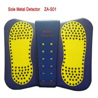 Quality 2019 New Portable Shoes Metal Detector Sound/LED Alarm High Sensitivity Sole Metal Detector for foot Scanner for sale
