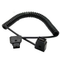 Quality D-tap male to female spring cable for Anton Beaur battery for sale