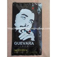 Buy Cigar moisturizing packaging plastic bag with zipper head at wholesale prices