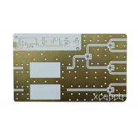 Quality Immersion Gold Rogers PCB Rigid Printed Circuit Board Fabrication for sale