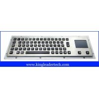 Best Panel mount backlight keyboard with 65 illuminated keys and integrated touchpad wholesale