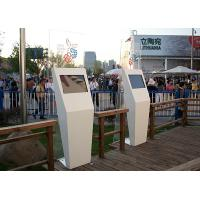 Quality Advertising Display Outdoor Information Kiosk , Self Service High Brightness Kiosk Touch Screen Monitor for sale