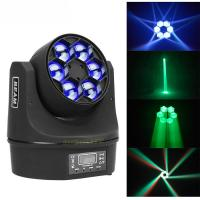 Quality MINI Led Moving Head Light 6x10w RGBW Bee Eyes 4 In1 Party Dj Disco Effect for sale