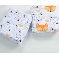 Buy cheap Babies 100% cotton muslin swaddle blanket from wholesalers