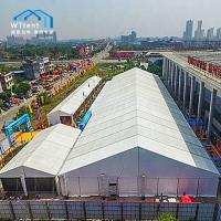 Quality White Durable Exhibition Canopy Tent Clear Span Wind Load 100km/H for sale